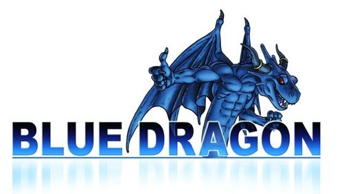 Blue Dragon : Logo