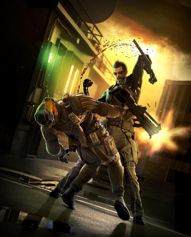 Deus Ex Human Revolution Key Art