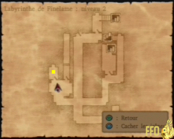 Dragon Quest 8 : labyrinthe