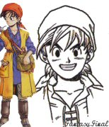 Dragon Quest  8 - heros