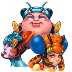 Final Fantasy X - soeurs magus