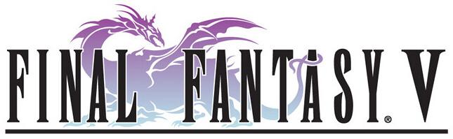 Final Fantasy V - Logo