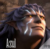 Final Fantasy VII Dirge of Cerberus : azul