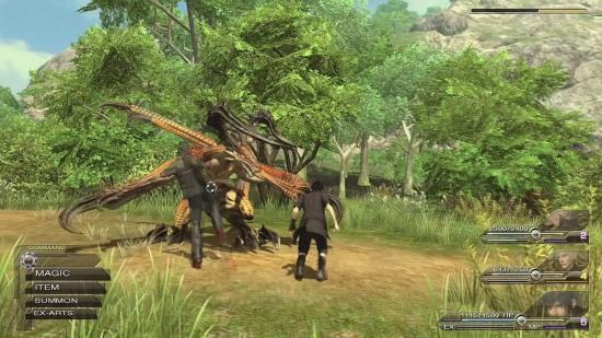 Final Fantasy Versus XIII Gameplay Combat