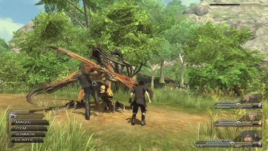 Final Fantasy Versus XIII Gameplay Combat