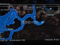FF13-2 : Fragment Fleur Helmwige - Monts Yaschas 100 AC dans Final Fantasy XIII-2 carte