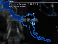 FF13-2 : Fragment Oeuf Extraordinaire - Cote sunleth 300 AC dans Final Fantasy XIII-2 Carte