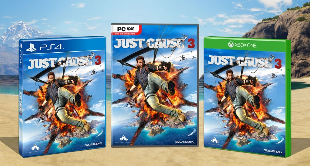 Just cause 3 - jaquette