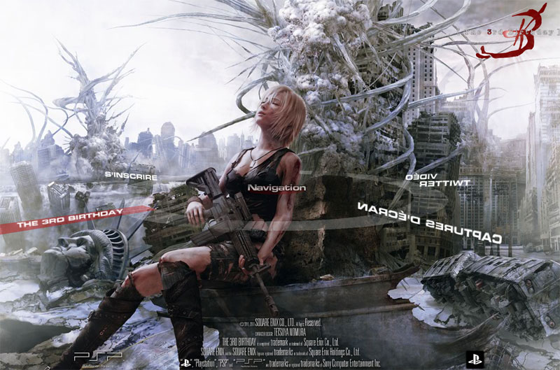 site officiel parasite eve the 3rd birthday