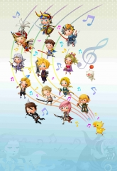 Theatrhythm Final Fantasy Artwork