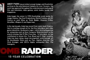 Tomb Raider - Illustration by Andy Park, le Comic