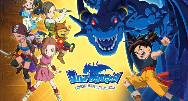 Blue dragon Manga