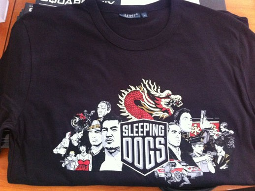 Sleeping Dogs T-shirt Goodie Square Enix
