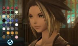 Final Fantasy XIV A Realm Reborn, la création de personnages