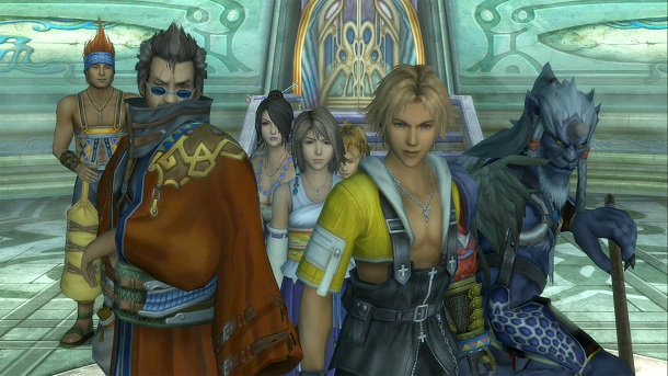 Final Fantasy X HD VS Original