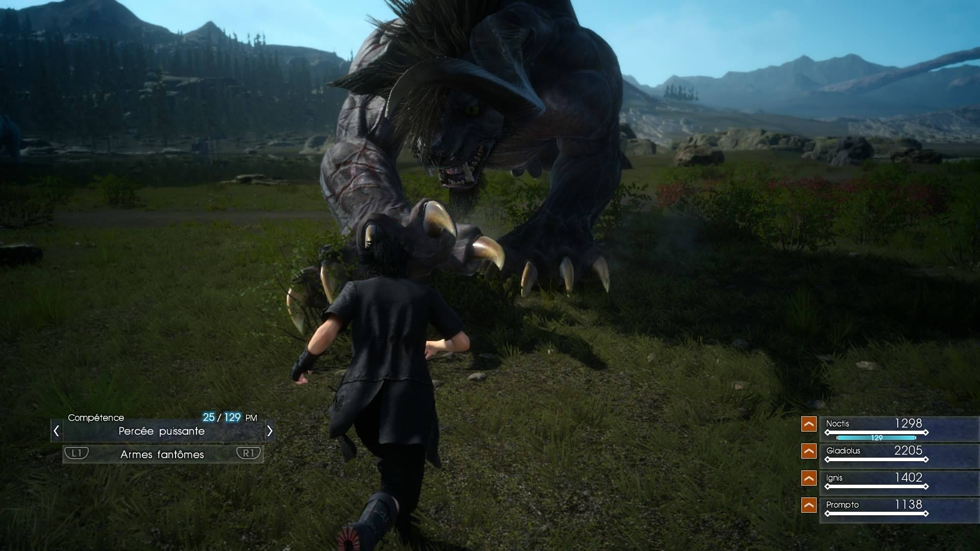 Final Fantasy XV - Battle Behemoth