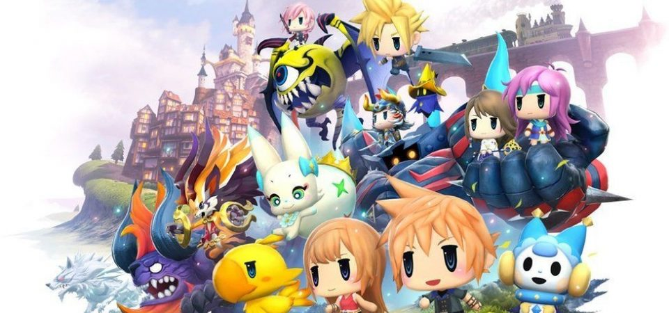 World of Final Fantasy Jump Festa 2016