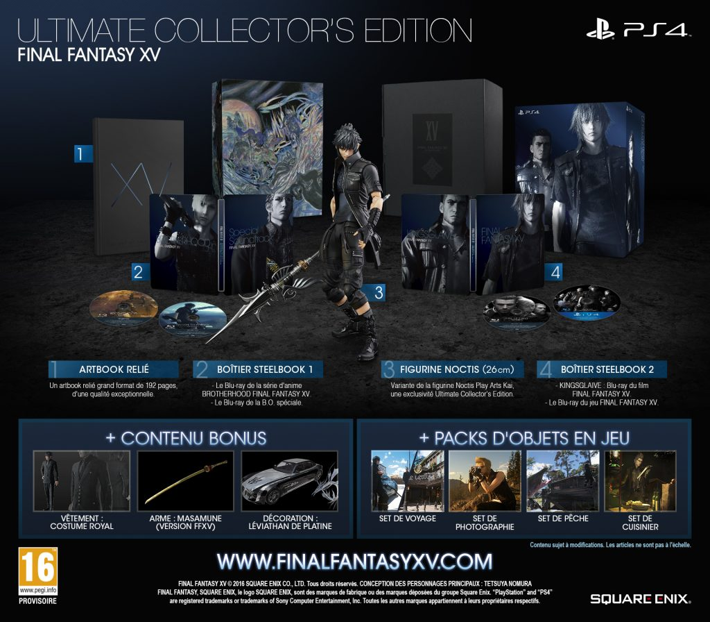 Edition Collector Ultimate FFXV