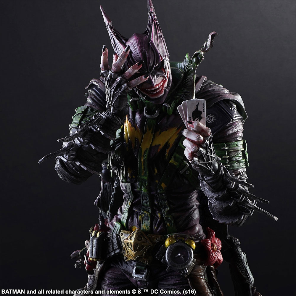 Square Enix - Figurine Play Arts Batman x Joker