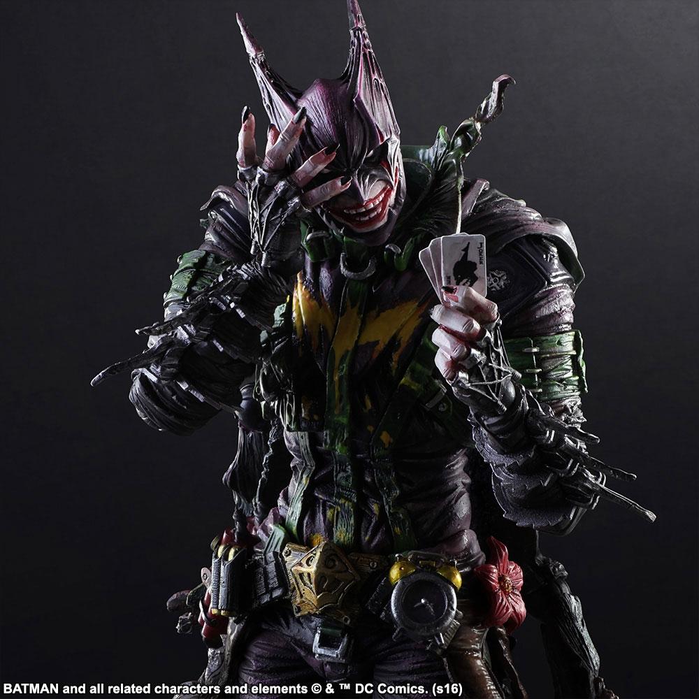 Square Enix - Figurine Play Arts Batman x Joker