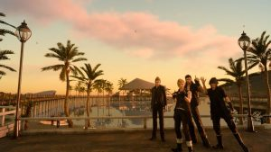 Final Fantasy XV - Les photos, selfies