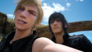 Selfie, Final Fantasy 15