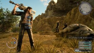 Final Fantasy XV - Survie