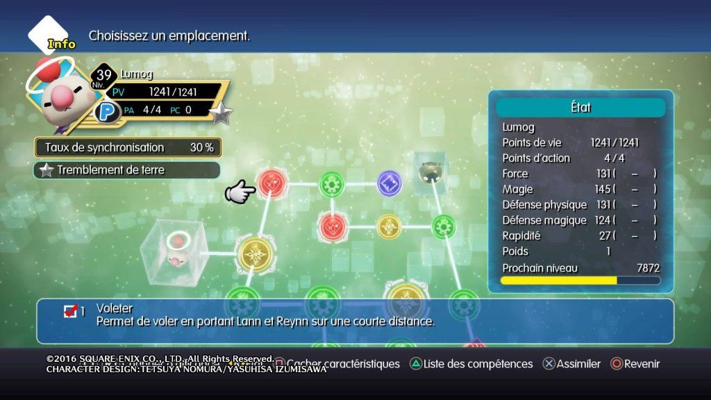 World of Final Fantasy - Lumog, Compétence Voleter