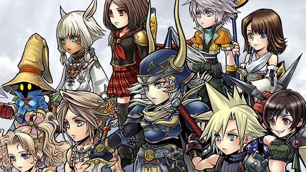 Dissidia Final Fantasy Opera Omnia - FF Mobile tour par tour