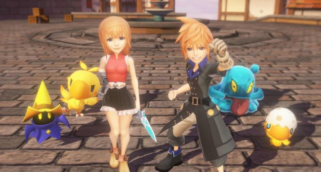 World of Final Fantasy, le test PS4