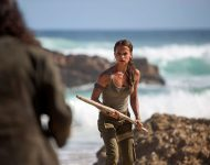 Tomb Raider Le film avec Alicia