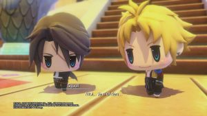 World of Final Fantasy - Squall & Clad