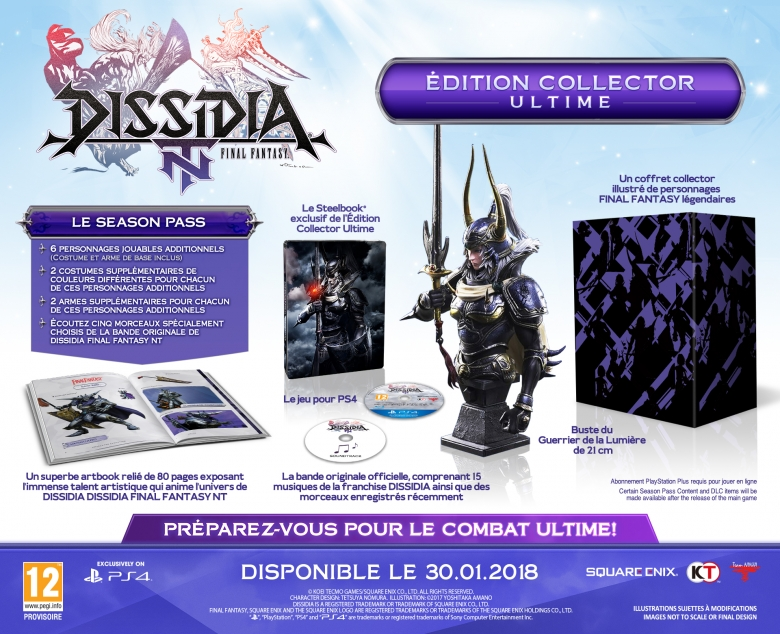 Edition collector Dissidia NT - Ultime