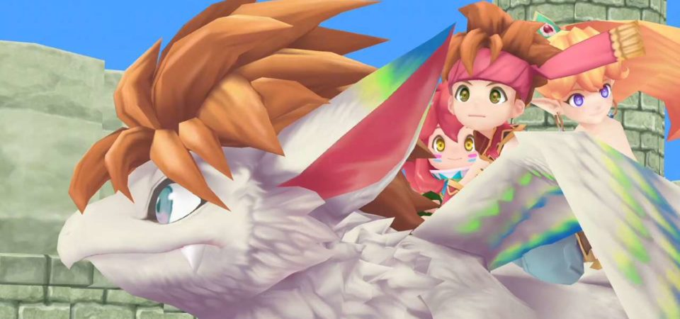 Video gameplay Secret of mana ps4